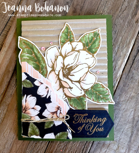 Fancy friday #tgifc218 Stampin' Up! Good Morning Magnolia by Jeanna Bohanon