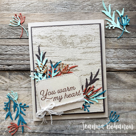 OSAT Sept 19 Stampin' Up! Frosted Foliage by Jeanna Bohanon card
