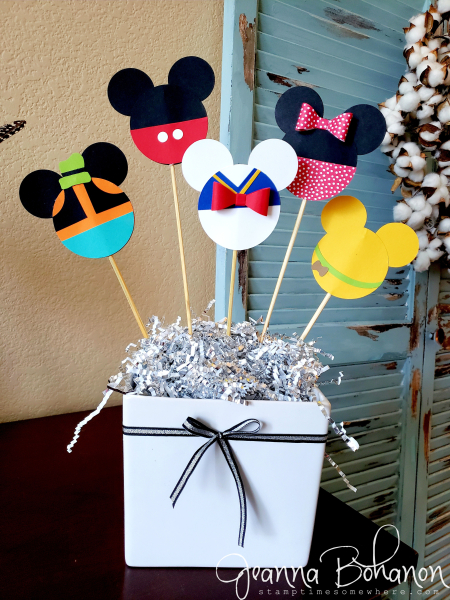 Stampin' Up! Home Decor Disney Centerpiece by Jeanna Bohanon 1
