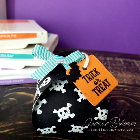 Paper Pumpkin Thing Stampin' up! Bone Apetit Box 1 Jeanna Bohanon