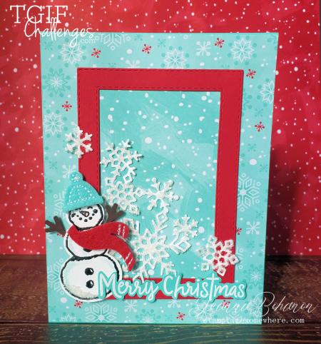 #tgifc231 Stampin' Up! Snowman Season by Jeanna Bohanon 1