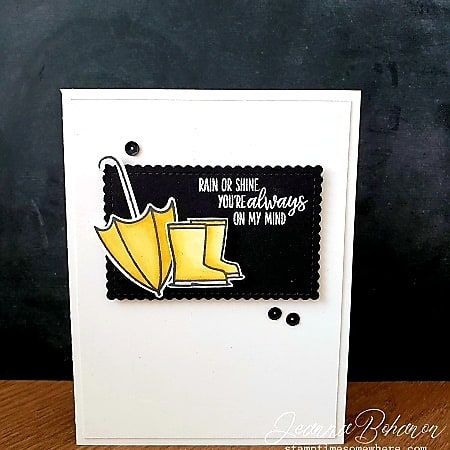 OSAT Stampin' Up! Under My Umbrella by Jeanna Bohanon card