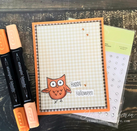 WCBH Stampin' Up! Hoot Hoot Hooray by Jeanna Bohanon