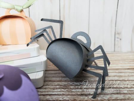 OSAT Blog Hop Spooktacular Halloween Mini Spider Curvy Keepsake Boxes Jeanna Bohanon