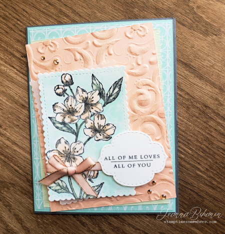 Creation Station Stampin' Up! Forever Blossoms Jeanna Bohanon