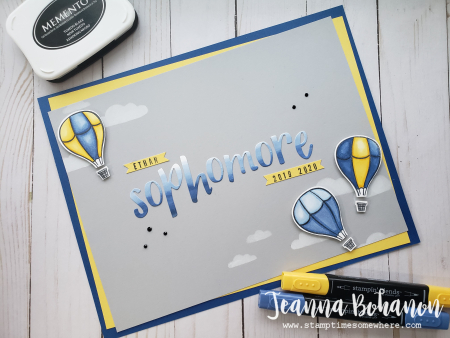 OSAT Blog Hop Stampin' Up! Above the Clouds by Jeanna Bohanon sign