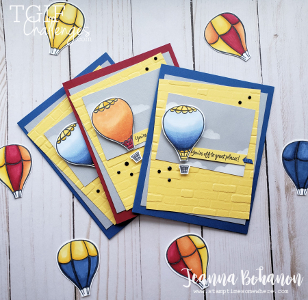 #tgifc224 Stampin' Up! Above the Clouds cards by Jeanna Bohanon 2