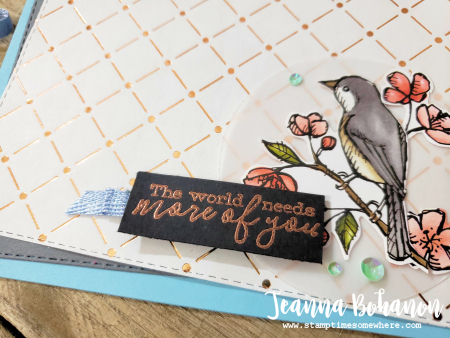 WCBH Stampin' Up! Bird Ballad by Jeanna Bohanon 2