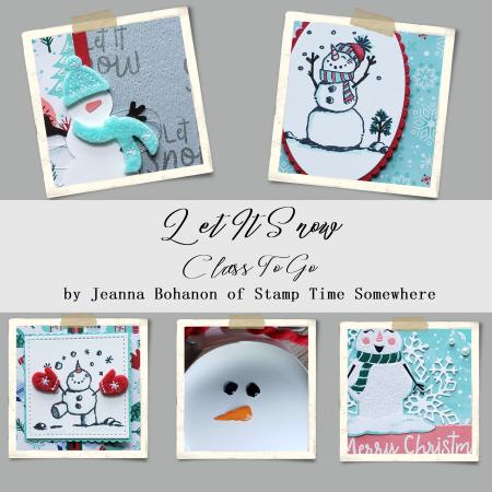 Class to Go Snowman Suite Jeanna Bohanon 1