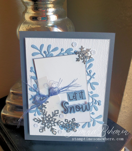 #tgifc241 Stampin' Up! Snowman Season Jeanna Bohanon (2)