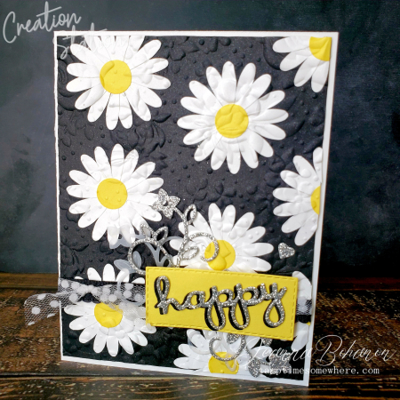 Creation Station Black and White - Stampin' Up! Daisy Lane by Jeanna Bohanon