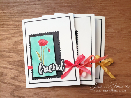 Stampin' Up! Painted Poppies by Jeanna Bohanon