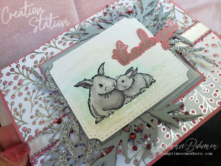 Creation Station Nov 19 Stampin' Up! Wildly Happy by Jeanna Bohanon