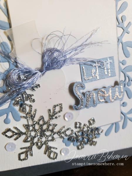 #tgifc241 Stampin' Up! Snowman Season Jeanna Bohanon 2