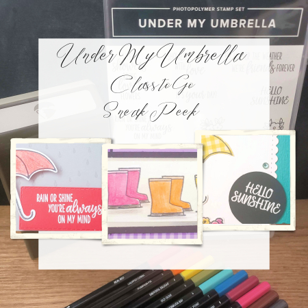Under My Umbrella Class to Go by Jeanna Bohanon sneak peek