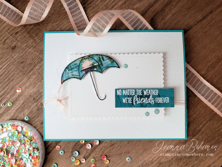 WCBH Stampin' Up! Under my Umbrella by Jeanna Bohanon