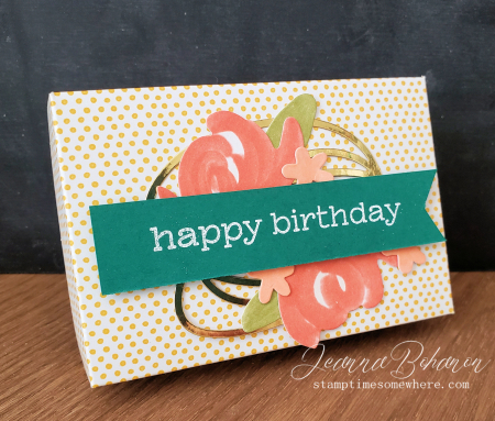 Paper Pumpkin Thing Blog Hop Something for Everything box Jeanna Bohanon