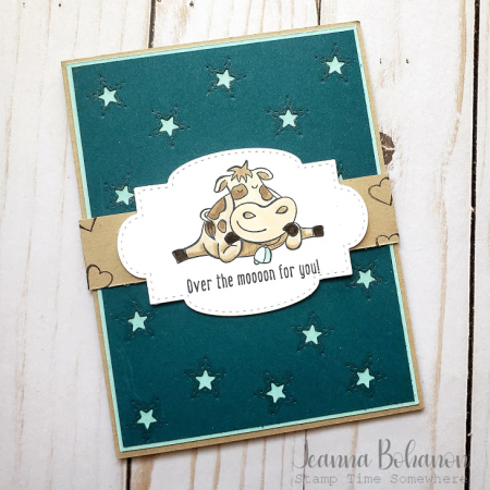 #tgifc260 Stampin' Up! Over the Moon by Jeanna Bohanon a