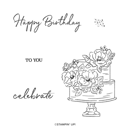 Happy Birthday Stampin' Up! Sale-A-Bration