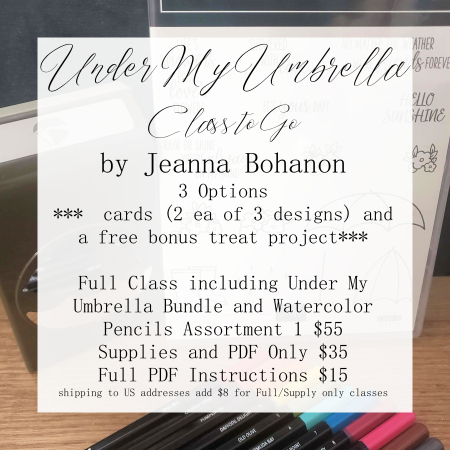 Under My Umbrella Class to Go by Jeanna Bohanon main