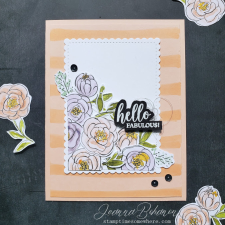 #tgifc256 Stampin' Up! Best Dressed by Jeanna Bohanon