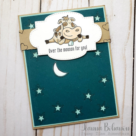 #tgifc260 Stampin' Up! Over the Moon by Jeanna Bohanon b