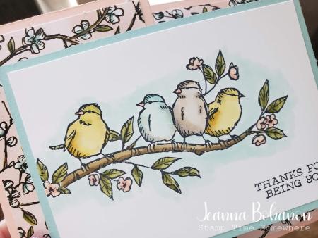 Stampin' Up! Free As A Bird Jeanna Bohanon 3