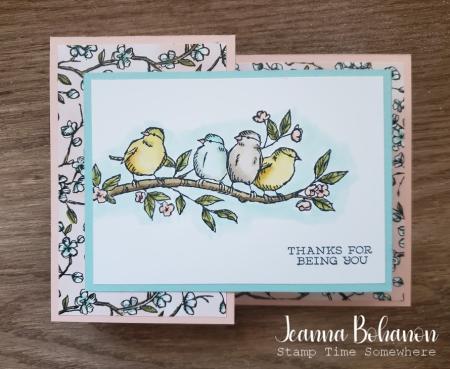 Stampin' Up! Free As A Bird Jeanna Bohanon 1
