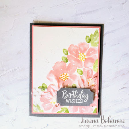 #tgifc272 Stampin' Up! Blossoms in Bloom by Jeanna Bohanon
