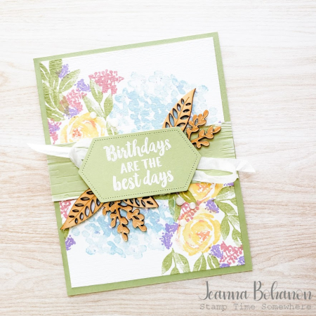 #tgifc277 Stampin' Up! Beautiful Friendship by Jeanna Bohanon