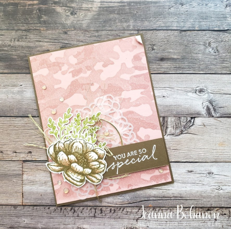 #tgifc280 Stampin' Up! Tasteful Touches Jeanna Bohanon