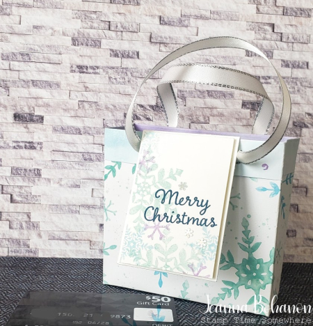 Fancy Friday gift bag - Jeanna Bohanon