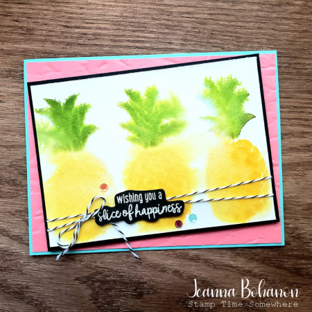 #tgifc271 Stampin' Up! Cute Fruit by Jeanna Bohanon
