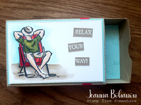 OSAT Stampin' Up! A Good Man by Jeanna Bohanon box1