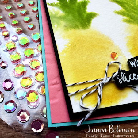 #tgifc271 Stampin' Up! Cute Fruit close by Jeanna Bohanon