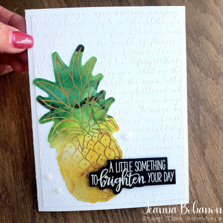 Box of sunshine jeanna bohanon card