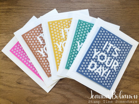 Creation Station Stampin' Up! In Color Set by Jeanna Bohanon