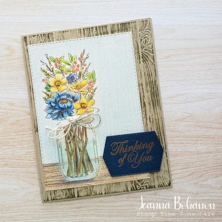 #tgifc278 Stampin' Up! Jar of Flowers Jeanna Bohanon