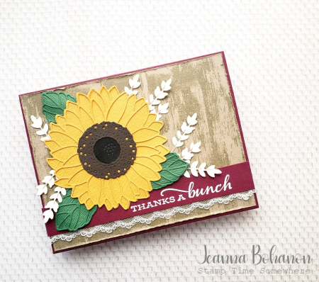 #tgifc289 Stampin' Up! Celebrate Sunflowers Jeanna Bohanon