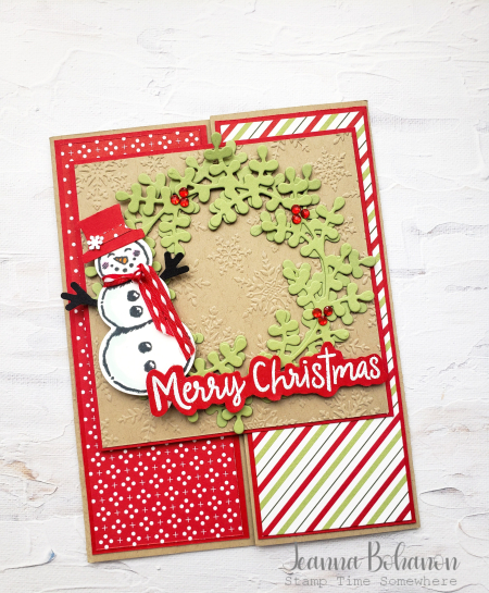 OSAT Stampin' Up! Snowman Season Card 1 Jeanna Bohanon