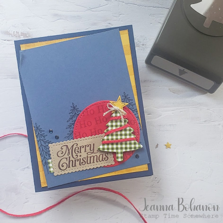 #tgifc295 Stampin' Up! Perfectly Plaid Jeanna Bohanon
