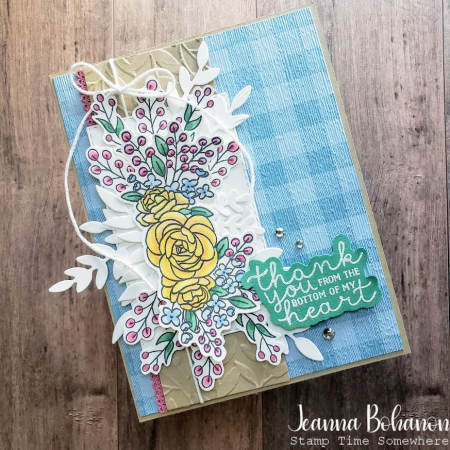 Stampin' Fancy Friday Stampin' Up! Bloom & Grow Jeanna Bohanon
