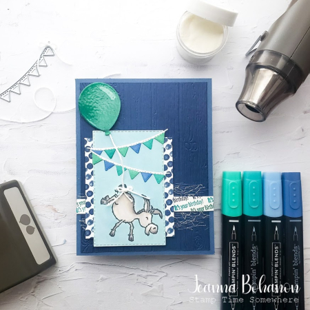 #tgifc304 Stampin' Up! Darling Donkeys Jeanna Bohanon