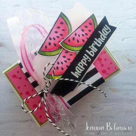 Paper Pumpkin Thing So Cool box Jeanna Bohanon