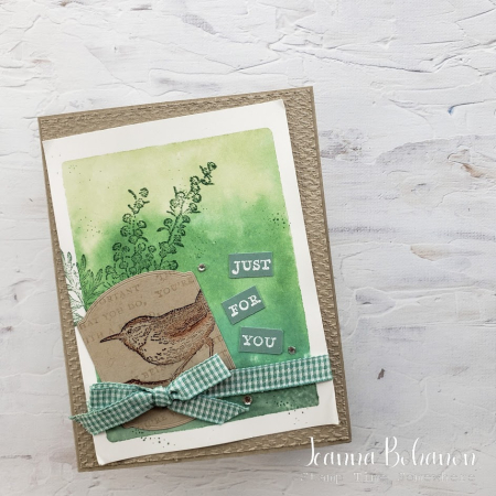 #tgifc314 Stampin' Up! Etched in Nature Jeanna Bohanon