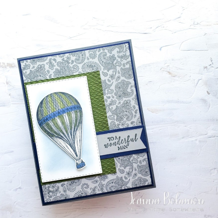 SFF Manly May Stampin' Up! Soar Confidently Jeanna Bohanon
