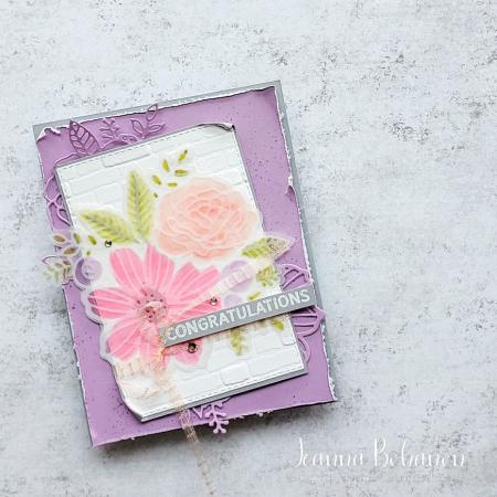 Paper Pumpkin Thing Blog Hop Card Jeanna Bohanon