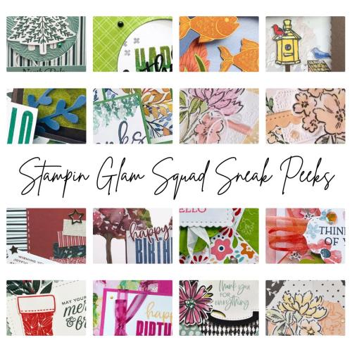 Glam Squad Fun Fold Sneak Peek