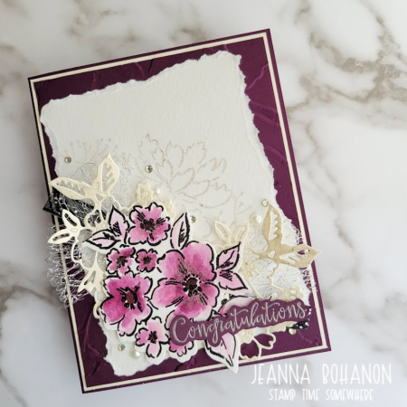 TGIF336 Stampin' Up! Hand Penned Jeanna Bohanon