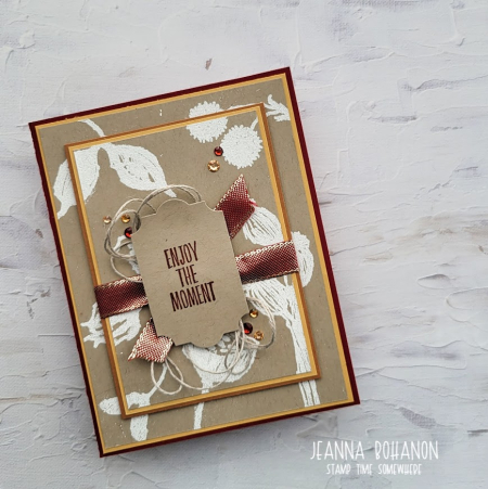 WCBH Stampin' Up! Enjoy the Moment Jeanna Bohanon